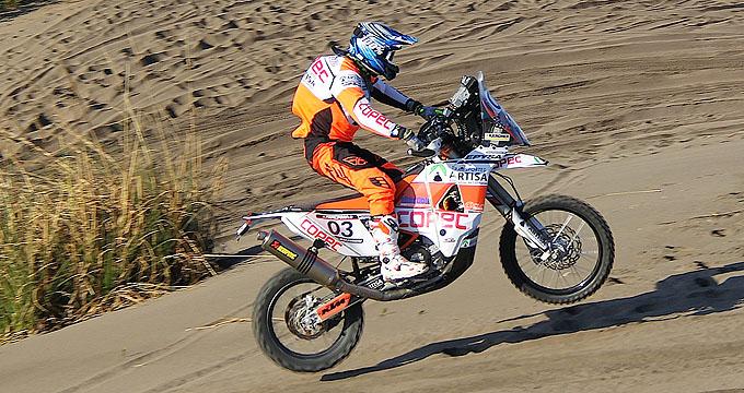 P.Quintanilla2, Etapa1 Atacama Rally